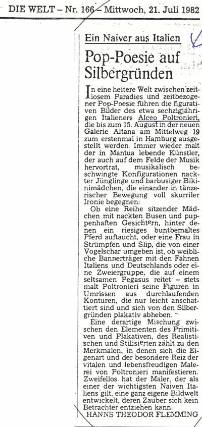 articolo Die Welt