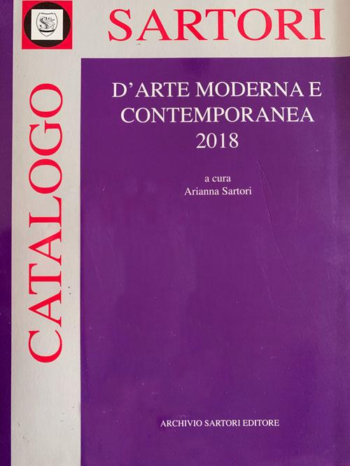 catalogo sartori arte moderna e contemporanea 2018